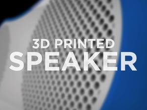 3D Printed Speaker