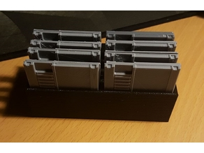 Mini NES Cartridge holder for Raspberry Pi