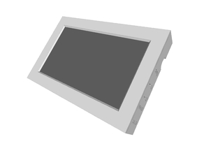 "7"" Touch screen enclosure (pcb800099) and mounting"