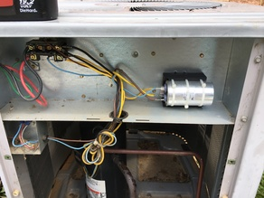 Air Conditioner Run Cap Capacitor Holder