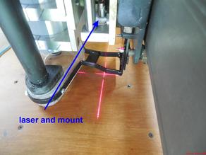 Laser Crosshair mount
