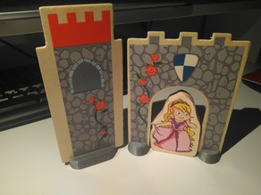 Base for cardboard figures - Peana para figuras de cartón