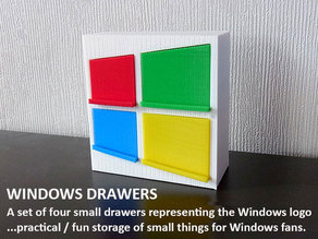 Windows Drawers