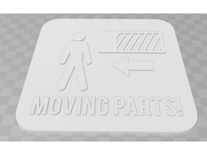 Moving Parts signage