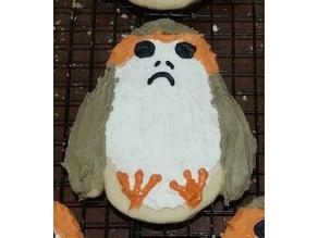 Porg / Penguin Cookie Cutter