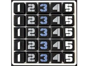 Latin Square Puzzle