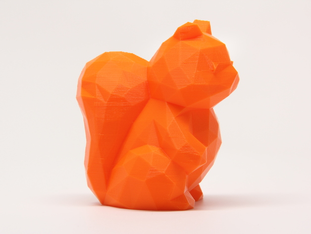 Origami squirrel | Origami squirrel icon, flat style — Stock ... | 472x628