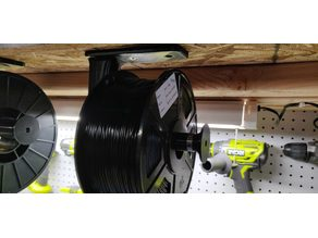608Z Bearing Hanging Filament Spool Mount v2.5