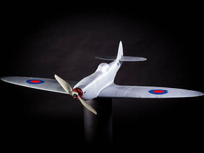 Aileron, 3d printed RC Spitfire