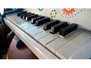 Replacement Piano Key