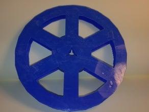 8 mm film spool