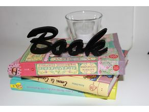 Book - Lettering / Stand / Decor