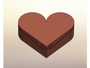 Heart Puzzle Jewelry Box