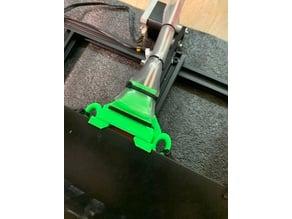 CR-10S Keenovo heater beefier stress/strain relief with zip loops
