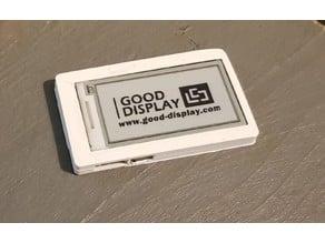 ESP32 TTGO T5 development board with e-paper display