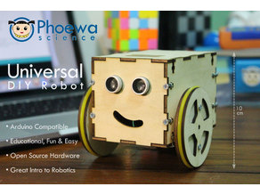 Universal DIY Robot with Arduino