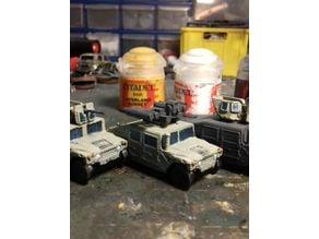 15mm Humvee collection