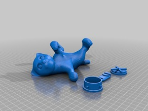 cat lying down-bs3-Remix-Bank