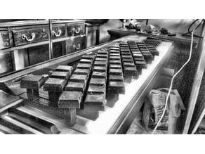 Isomorphic Keyboard Piano Overlay