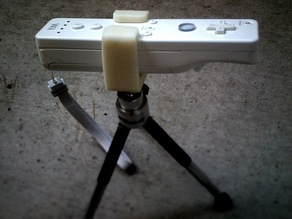 Wiimote Tripod Mount