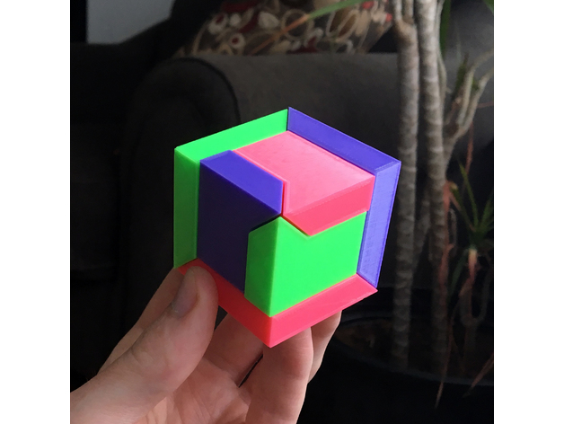Puzzle Cube - Thingiverse WildRoseBuilds