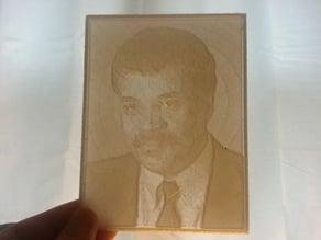 Neil DeGrasse Tyson Lithopane