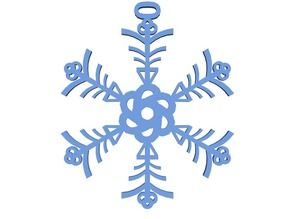 Snowflake made by Numbers!