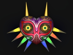 "Majora's Mask ""HD-Mini"" (3mm LEDs)"