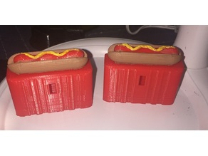Diner Pinball Hot dog Switch Cover