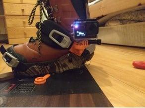 Sport cam mount for snowboard binding stripe mk2 (gopro & SJ cam)