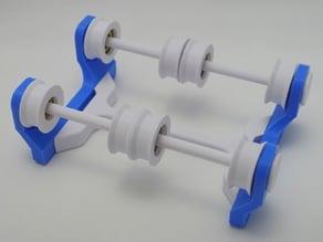 Filament spool holder (608 bearing)