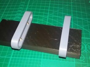 X580 battery tray