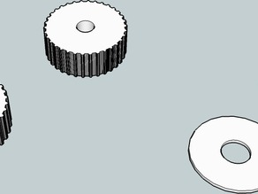 MakerBot Z Pulleys