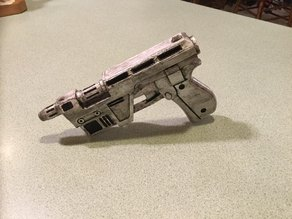 Poe Dameron Blaster with Corrected Nozzle Size