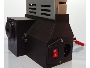 Modular Ender 3 Meanwell PSU Cover with USB Charger
