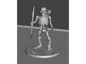 28mm Skeleton Warrior with Longbow 2