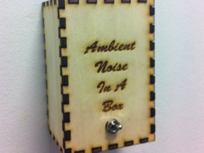 Ambient noise in a box