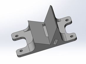 Camera holder for Toby-X quadcopter