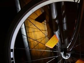 Thin Wheel Reflector for Road Race Bike