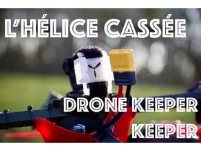 Drone Keeper strap mount --- L'Hélice Cassée