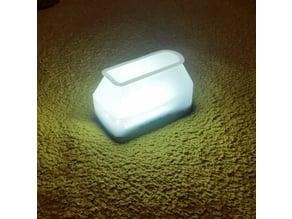 Camping light diffuser