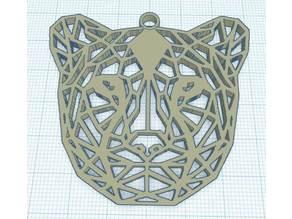 Geométric cheetah - Guépard Géométrique