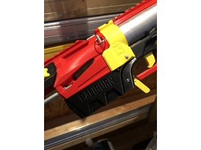 Caliburn upgrade to use OD: 40mm ID: 36mm (metric) aluminium plunger tube including the new takedown magwell design