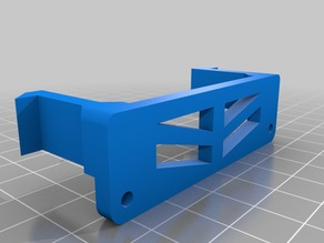 RC Jeep JK Rear Body Mount