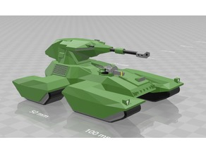 15mm halo (not so) low poly scorpion