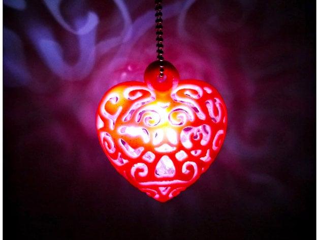 Heart Light By Shiuan Thingiverse