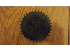 Maker coin - winged scorpion