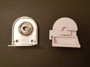 IKEA TUPPLUR different mount