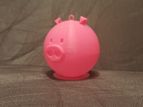 Christmas bauble Pig