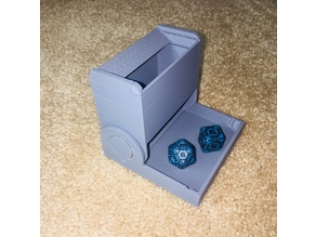 Folding Compact Dice Tower
